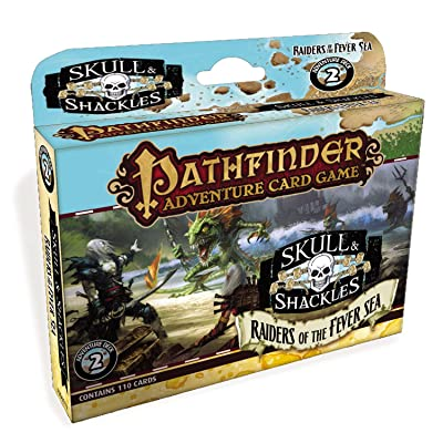 Pathfinder: Raiders Of The Fever Sea Adventure Deck: Mike Selinker: Toys & Games