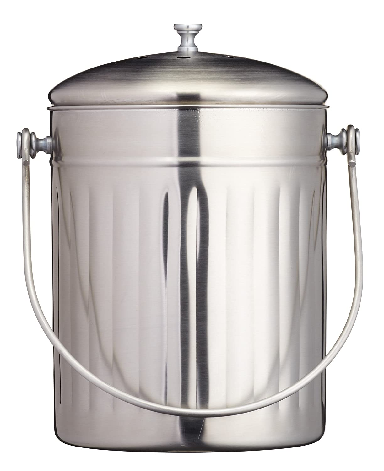 Stainless Steel Compost - Bin 5L Kitchen Craft KCCOMPSS