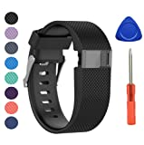 Newest Fitbit Charge HR Strap, BeneStellar adjustable Silicone Replacement Small Large Band Bracelet Strap for Fitbit Charge HR Wireless Activity Wristband