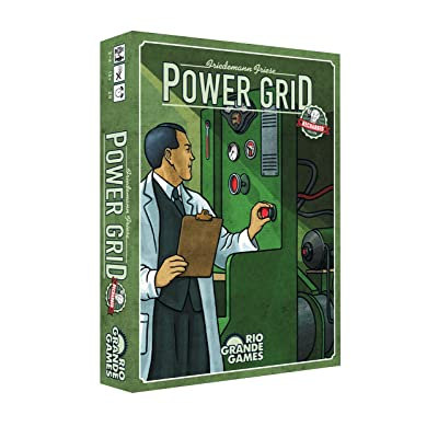Rio Grande Games Power Grid Recharged: Toys & Games