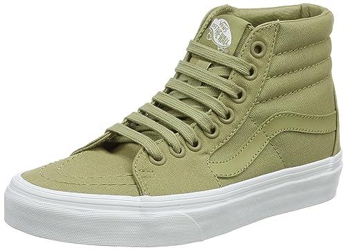 373eb1e5e4 Vans Men s Adults  Sk8-hi Hi-top Trainers Green (Mono Canvas) Boa ...