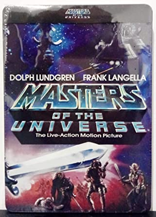 Masters of the Universe Combo pack DVD – BLURAY 3D embossing ...