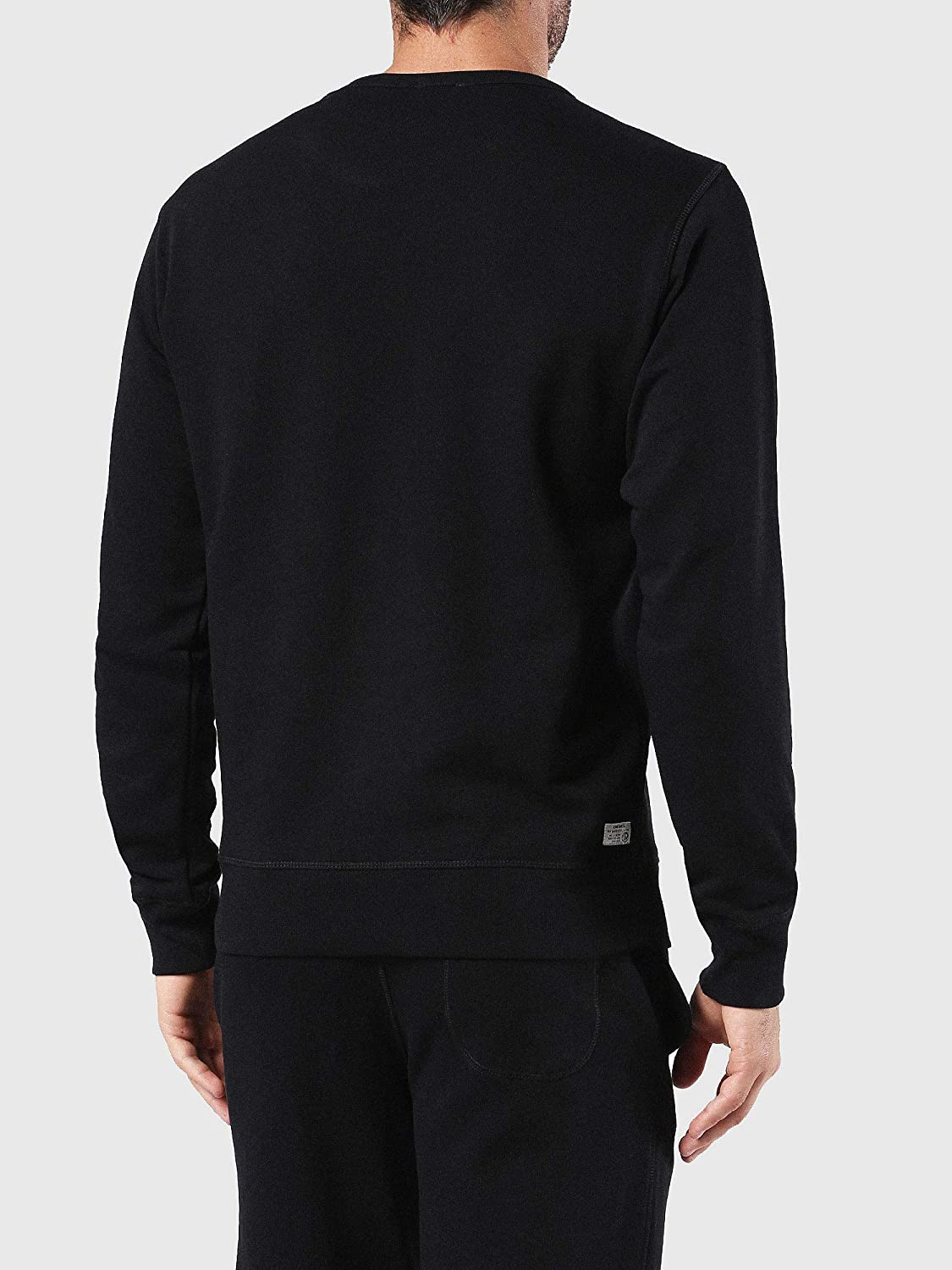 Diesel Mens Willy Mohican Lounge Crew Sweat Shirt