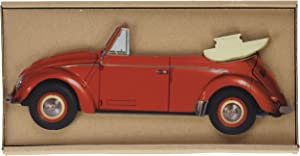 Werkhaus 2040Pencil Holder with Form of VW Beetle Red
