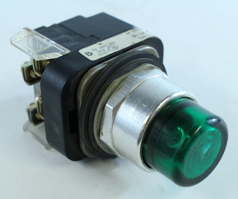 Allen Bradley 800T-Pt16G 800Tpt16G Push Button Green