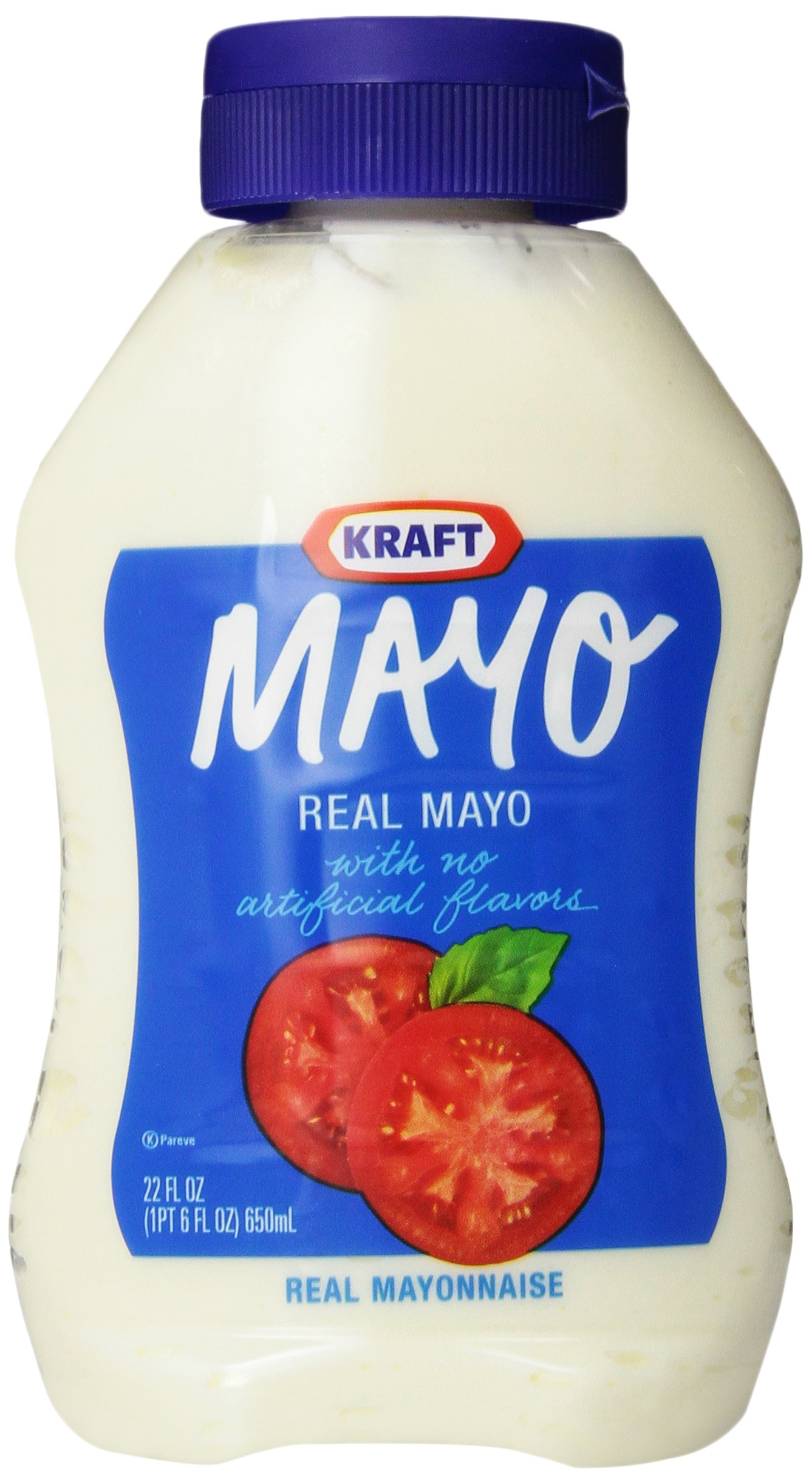 Kraft Mayonnaise, 22-Ounce Squeeze Bottles (Pack of 2)