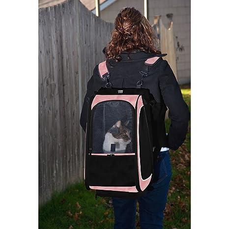 Amazon.com: CARRIOLA para MASCOTA PET GEAR modelo TRAVEL SYSTEM II color Pink: Health & Personal Care