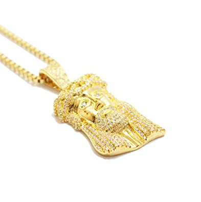 jesus closet gold piece trap product necklace