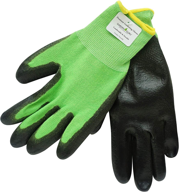 Garden Guru Premium Garden Gloves for Women and Men (2 Gloves per Package) - Comfortable and Durable Gloves for Gardening, Housework, Yardwork, Fishing, Clamming, and More