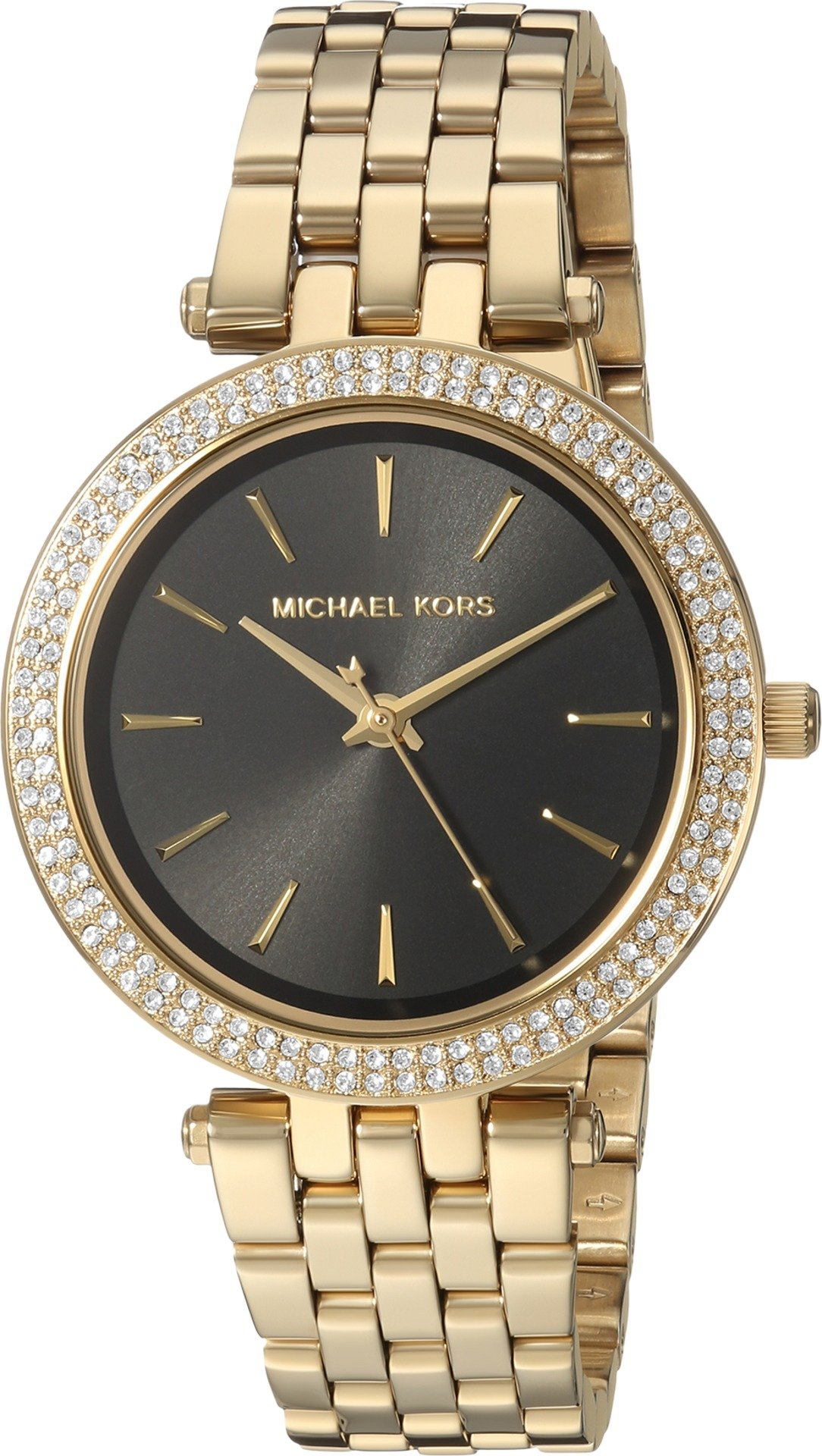 Michael Kors Women's 'Mini Darci' Quartz Stainless Steel Casual Watch, Color:Gold-Toned (Model: MK3738)