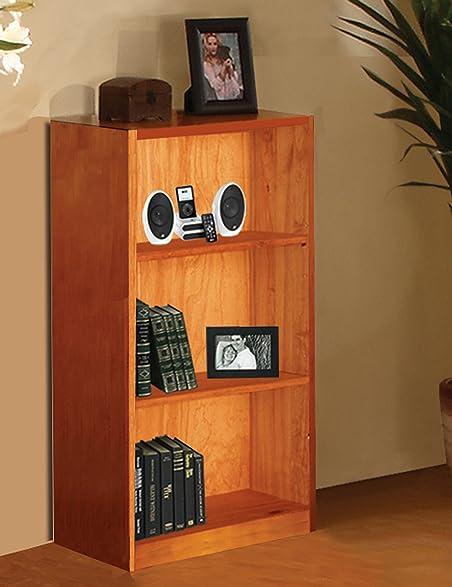 American Furniture Classics Honey Bookshelf 42 Inch