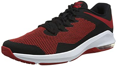 air max black red
