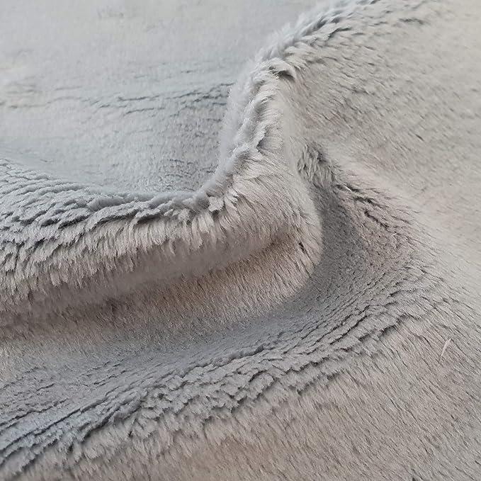 Tela Minky liso muy suave AZ/ÚL BEB/É 2m largo x 1,6m ancho arrullo y almohadas ideal mantas