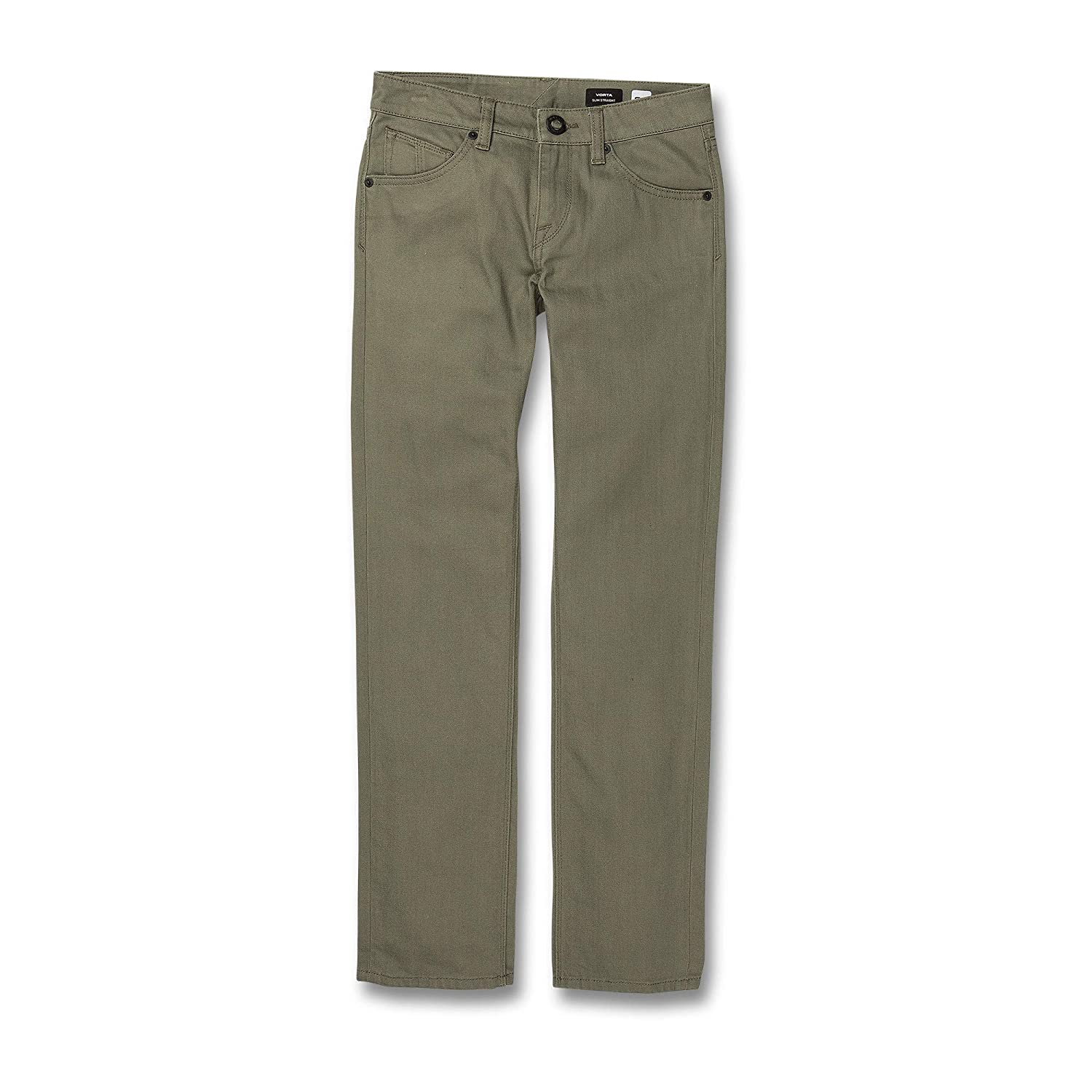Volcom Big Boys Vorta 5 Pocket Slub Slim Fit Pant