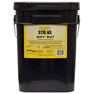 First Strike Soft Bait RAT/MICE Rodenticide Poison - 16 LBS 6666325