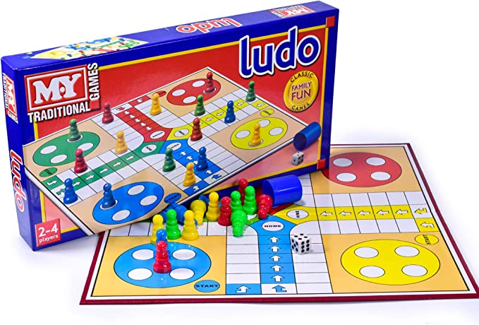 Ludo Traditional Board Game x 1 by KandyToys: Amazon.es: Juguetes y juegos