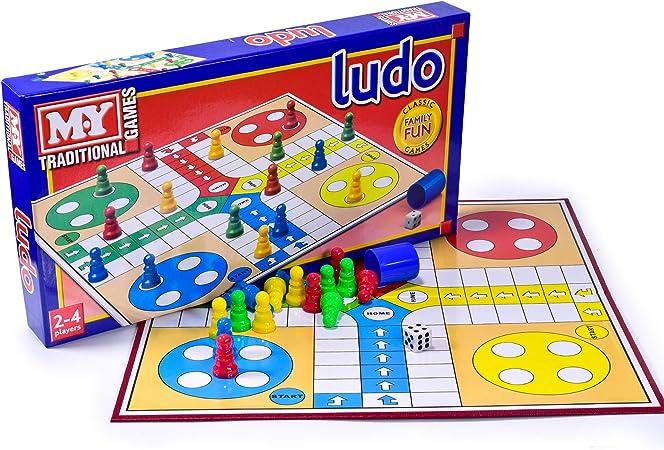 Ludo Traditional Board Game x 1 by KandyToys: Amazon.es: Juguetes y juegos