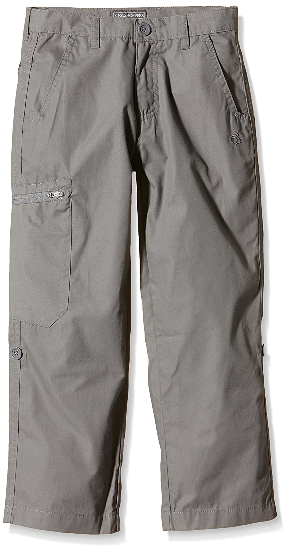 Craghoppers Kiwi – Pantalones Classic para Plateado, niño, Color Plateado, para tamaño 9 7222ca