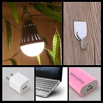 DC portable 5V 5W LED usb white light bulb lamp for laptop computer HV