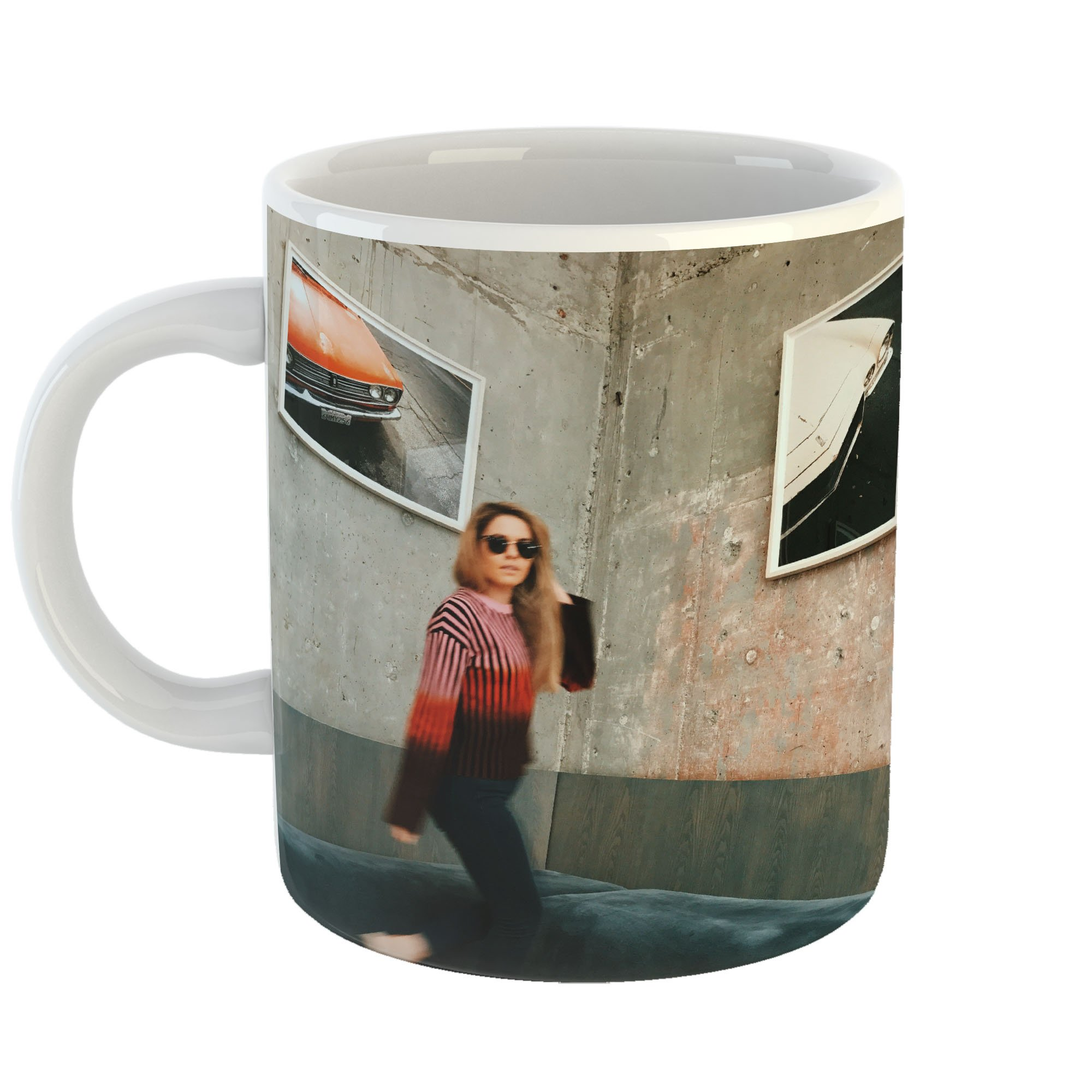 Westlake Art - Stripe Hotel - 11oz Coffee Cup Mug - Modern Picture Photography Artwork Home Office Birthday Gift - 11 Ounce (26C9-1AB13)