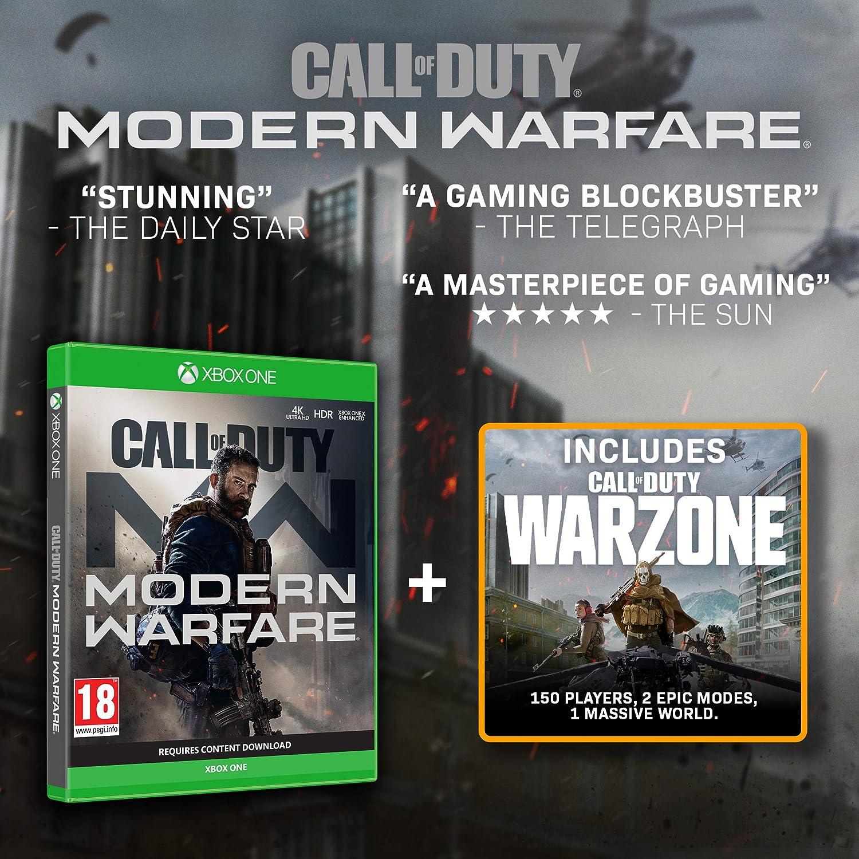Call of Duty: Modern Warfare - Xbox One [Importación inglesa]: Amazon.es: Videojuegos