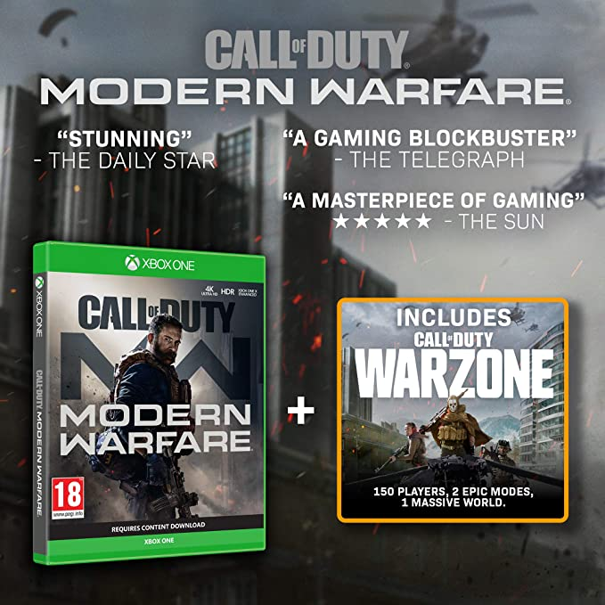 Call of Duty: Modern Warfare - Xbox One [Importación inglesa ...