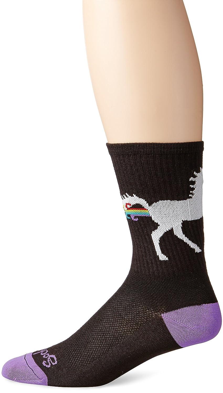 SockGuy Men's Unicorn Express Socks The Sock Guy Men' s Socks CRUNIEXP
