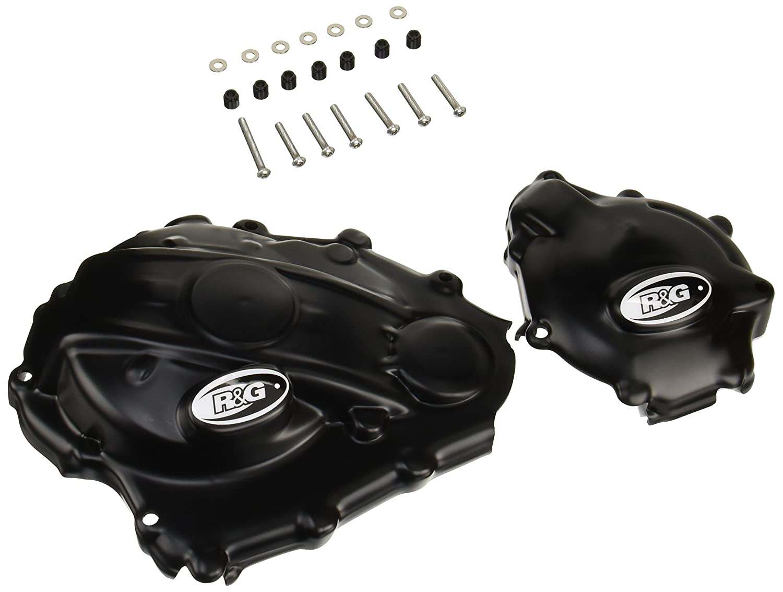 R&G(アールアンドジー) エンジンケースカバーセット ブラック GSX-R1000(17-) RG-KEC0100BK   B071P7D9XV