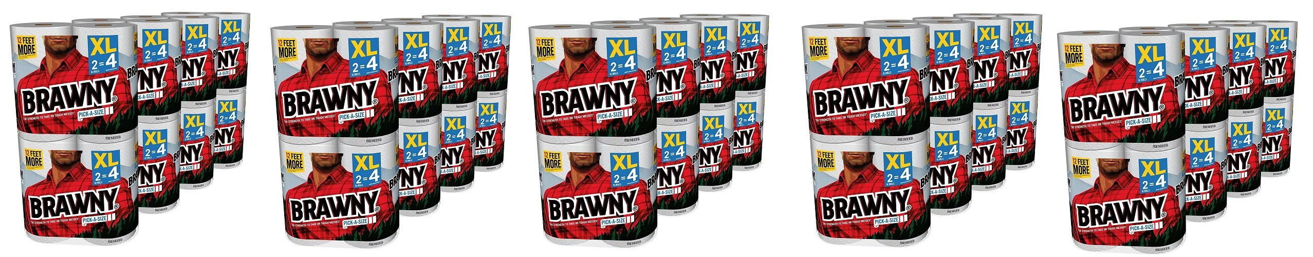Brawny Pick-a-Size Paper Towels gnyCDJ, 5Pack (16 X-Large)