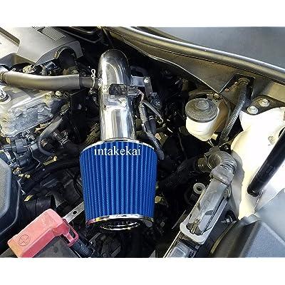 AIR INTAKE KIT SYSTEMS FIT 2013 2014 2015 2016 2020 2020 TOYOTA RAV 4 RAV4 2.5 2.5L ENGINE (BLUE): Automotive