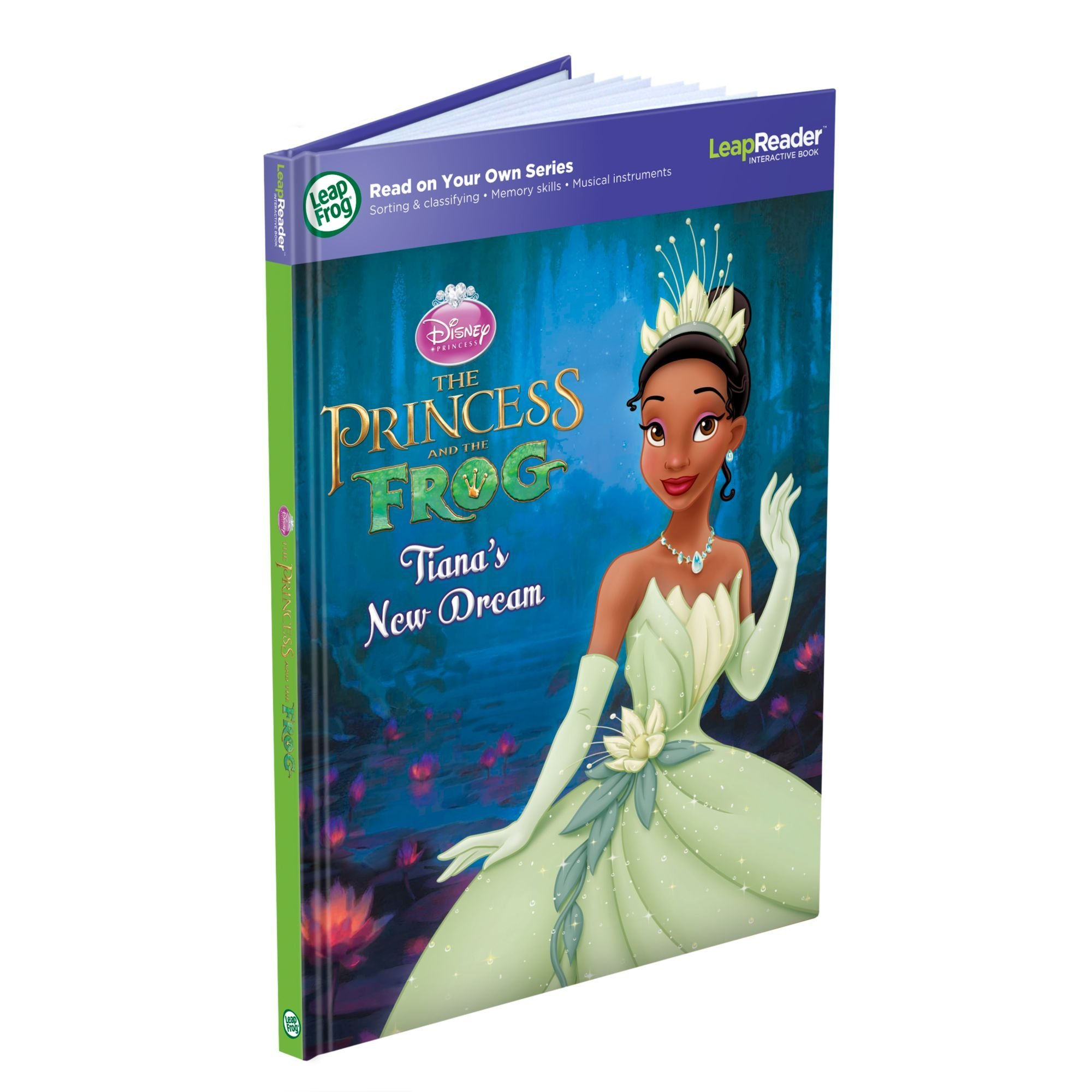 LeapFrog LeapReader Book: Disney Princess and the Frog (works with Tag) by LeapFrog