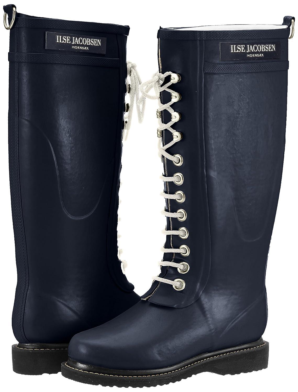 ILSE JACOBSEN Women's Rub 1 Rain Boot B01FMRWQSE 41 B EU / 11-11.5 B US Women Dark Indigo