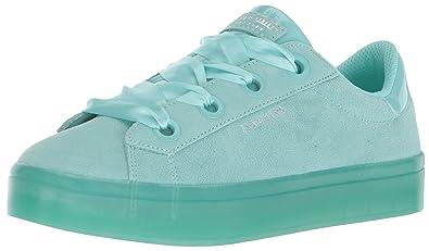 5f40c65d5b4a Skecher Street Women s Hi-Lite-Suede Satin Sneaker