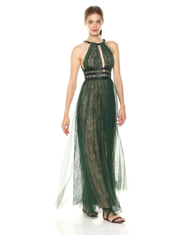 Amazon.com: BCBGMAXAZRIA BCBGMax Azria Women\'s jasmina Knit Halter ...