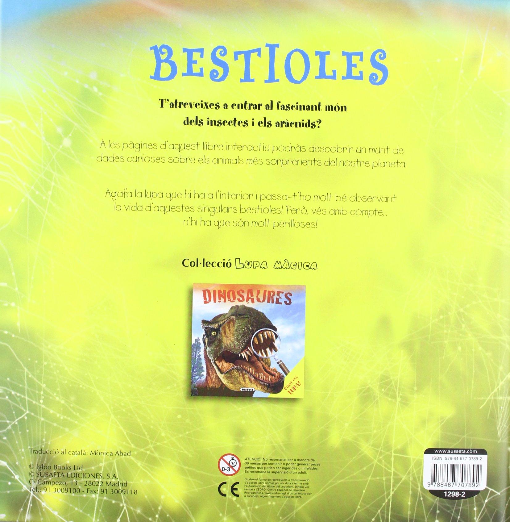 Bestioles (Lupa màgica): Amazon.es: Susaeta, Equipo, Susaeta ...