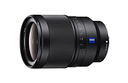 Sony SEL35F14Z Distagon T FE 35mm f/1.4 ZA Standard-Prime Lens for Mirrorless Cameras Camera Lenses at amazon