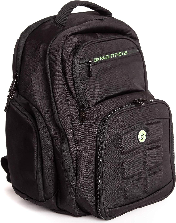 Fitness Expedition 300 - Juego de 6 bolsas de deporte para gestión de comidas (incluye latas y bolsas de refrigeración), color negro y azul, verde: Amazon.es: Deportes y aire libre