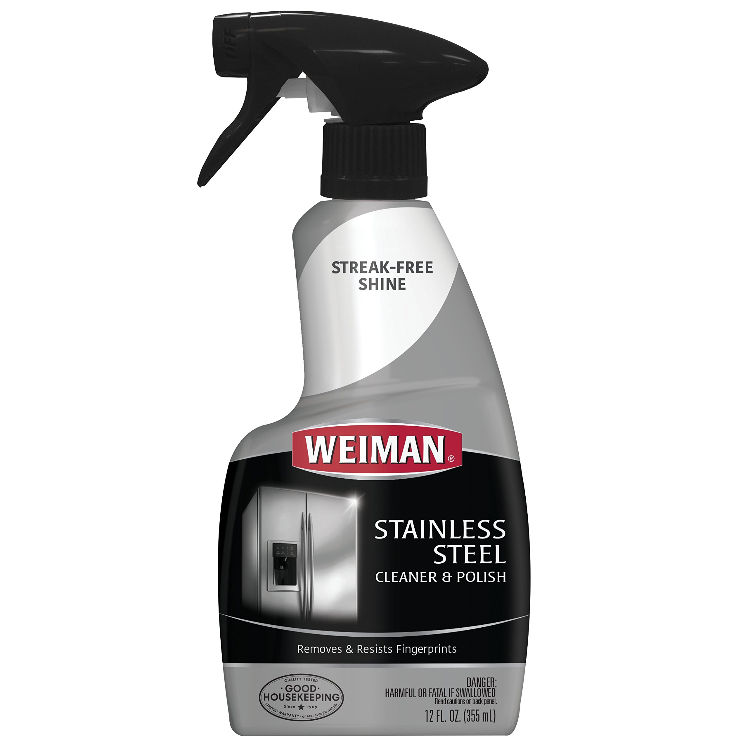 Weiman Stainless Steel Cleaner & Polish 12 fl oz - 6 pack by Weiman