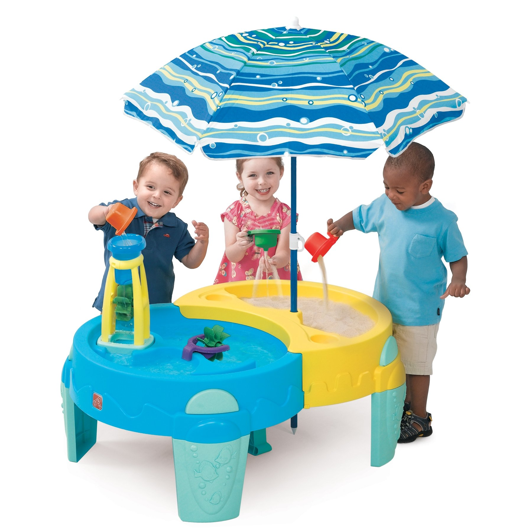 Shady Oasis Sand and Water Play Table by Step2 (Image #1)