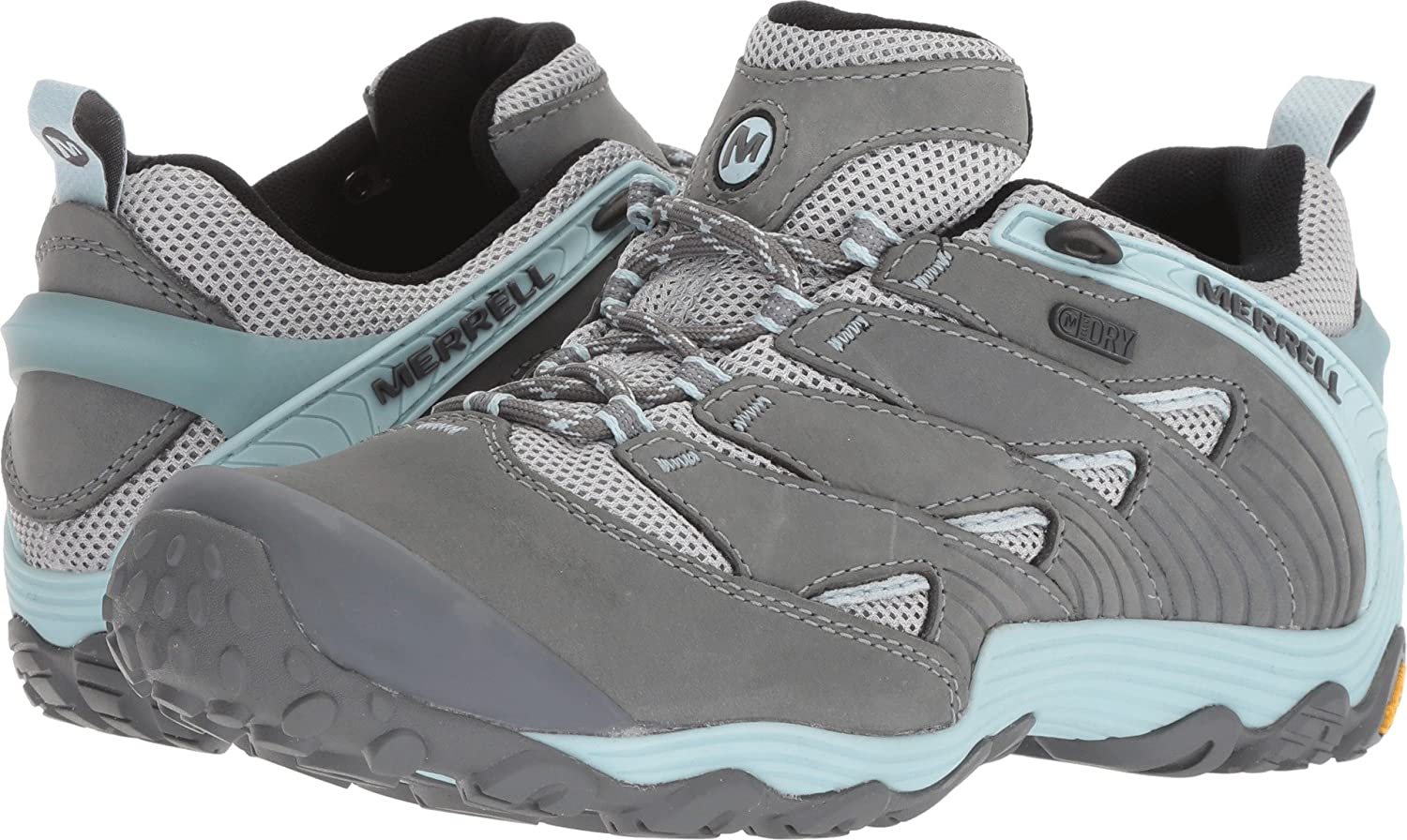 Merrell Women's Chameleon 7 Waterproof Hiking Shoe B078NG6MM7 10 M US|Frozen Blue