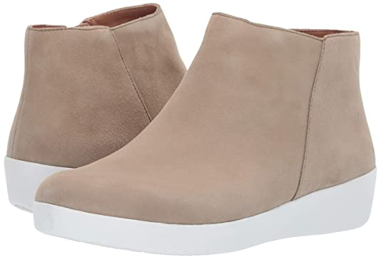 540595989eb819 FitFlop Women s Sumi Suede SupercomFF Ankle Bootie Boot Taupe Size 7   Amazon.co.uk  Shoes   Bags