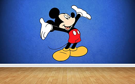 Mickey Mouse Wall Stickers Art Decal Vinyl Boys Bedroom Part 50