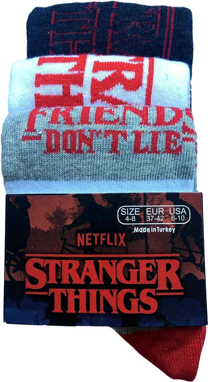 Stranger Things 3 paia Calzini da donna