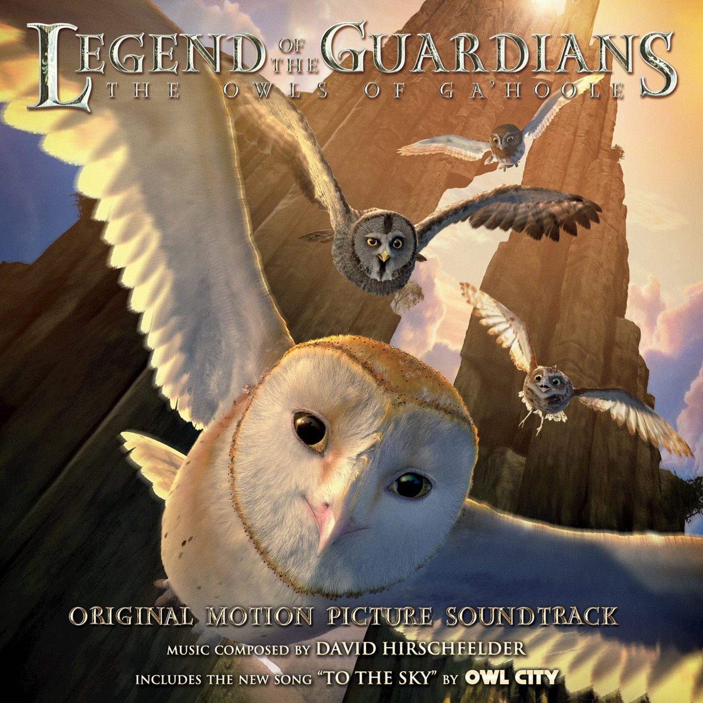 Various Artists  Legend Of The Guardians: The Owls Of Ga'hoole: Original  Motion Picture Soundtrack  Amazon Music