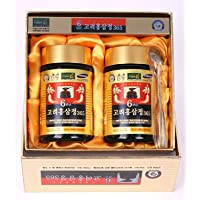 HongSamJeong 240g(8.5oz) X 2ea, Korean 6years Root Red Ginseng Gold Extract, Saponin...