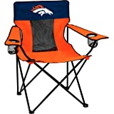 Logo Brands Officially Licensed NFL Unisex Elite Chair, One Size, Team Color