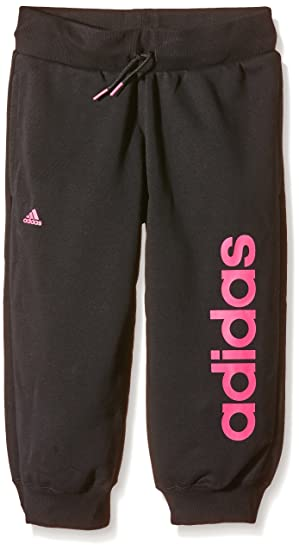 quite nice arriving new arrival adidas girls Essentials Linear 3/4 Hose Trousers, Black ...