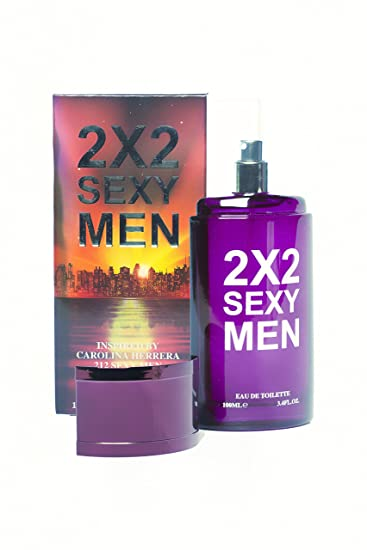 1170d7c00 Amazon.com : 2X2 Sexy Men, Inspired By 212 Sexy Men By Carolina Herrera  Cologne 3.4 Fl. Oz./ 100 ml : Beauty