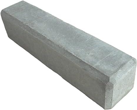 Bellaton – Macetero, hormigón trog 100 x 50 x 45 cm, color gris, aprox. 130L, maciza: Amazon.es: Jardín