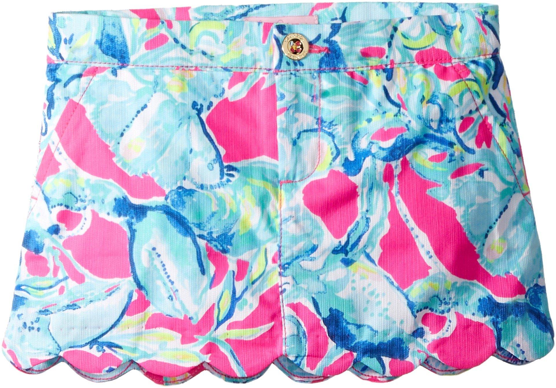 Lilly Pulitzer Kids Baby Girl's Mini Colette Skort (Toddler/Little Kids/Big Kids) Raz Berry Lobsters in Love 6